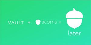 Acorns Investing Acquires Vault Retirement