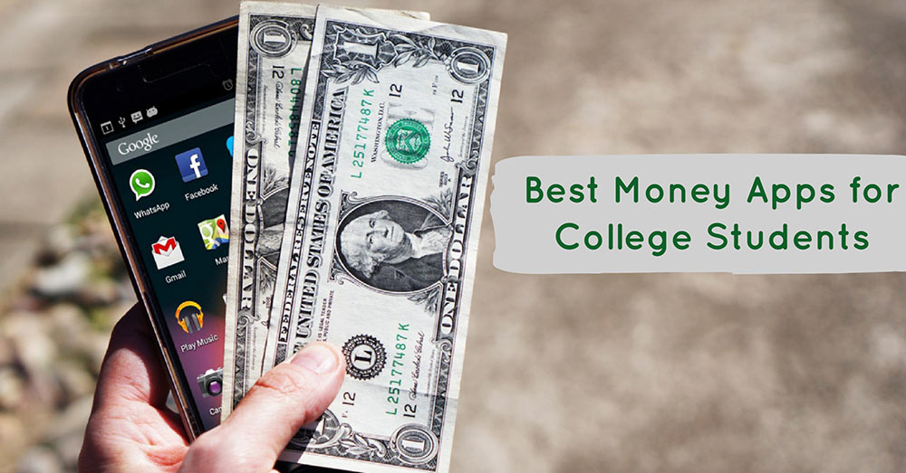Best Personal Finance Apps for College Students Graphic