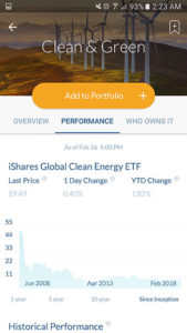 Stash-Investment-App-Clean-and-Green-Performance