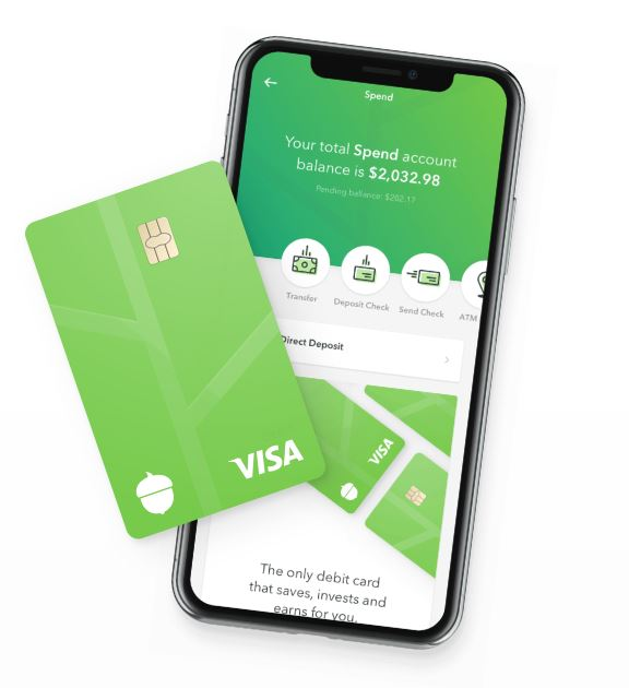 Acorns Spend Card and Phone