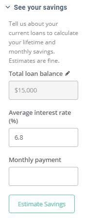 Credible-Student-Loan-Refinancing-Calculator