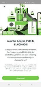 Acorns Investment App Path to $1,000,000