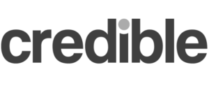 Credible Student Loans Logo PNG Grayscale