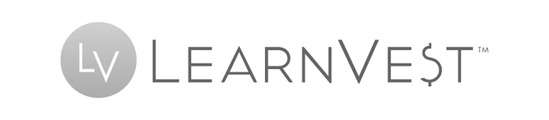LearnVest Logo 2 Grayscale