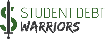Student Debt Warriors Logo Transparent