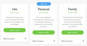Acorns Investment App Pricing Plans